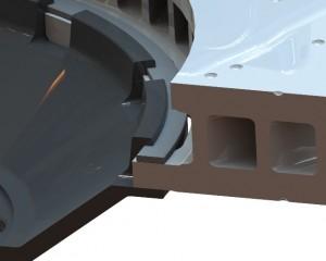 SVT Front Rotor Retaining Ring