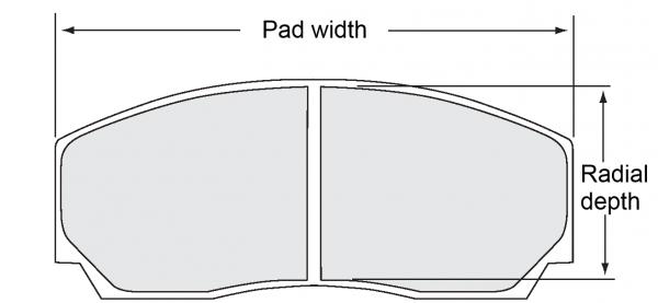 PFC pad size