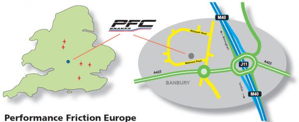 PFC UK map