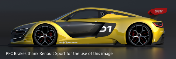 Renault RS01 with PFC carbon-carbon brakes