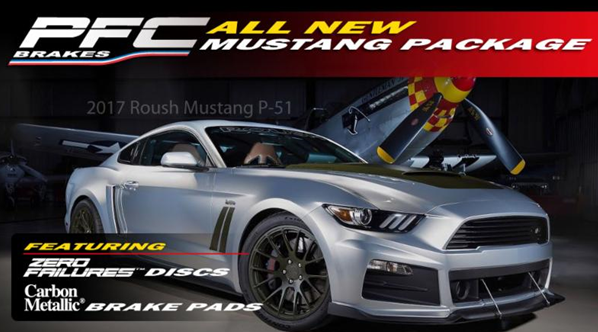 Ford Mustang Roush road